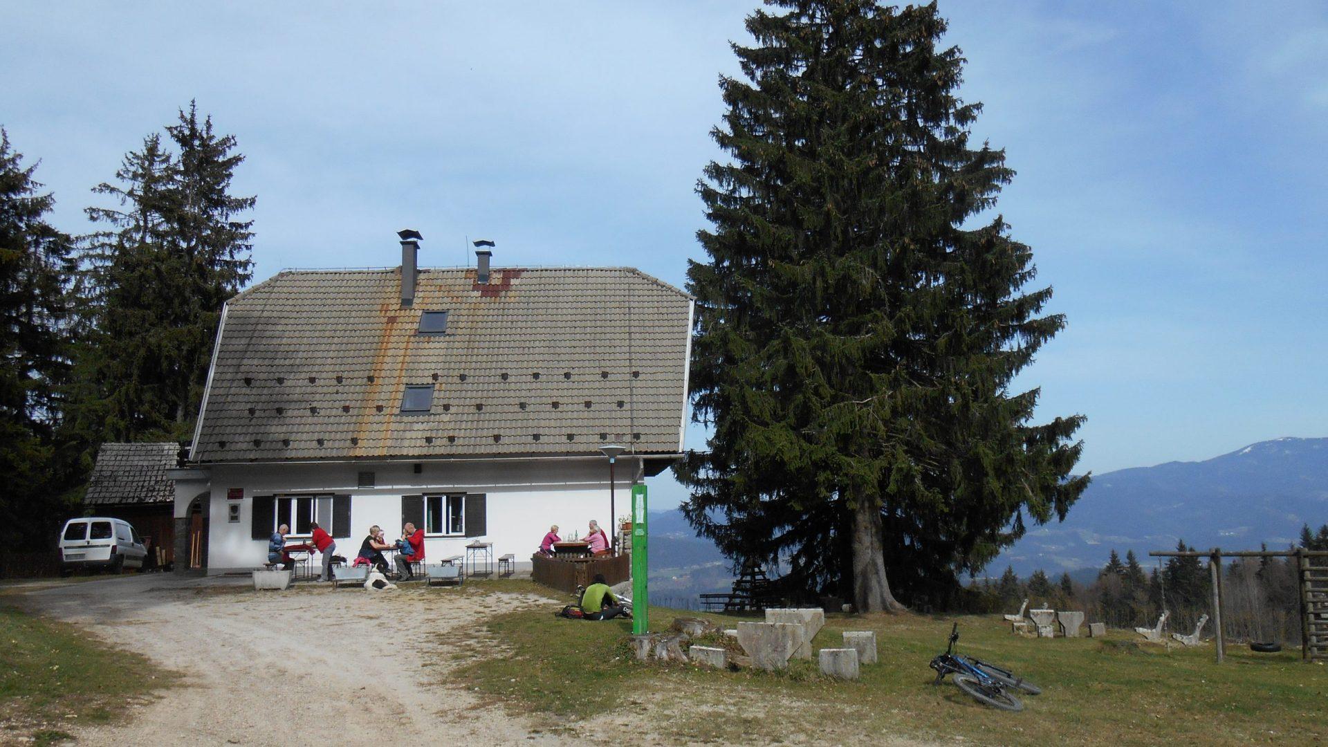 Postmen's Lodge below Plešivec